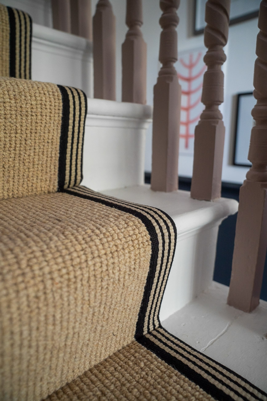 How To Achieve Your Perfect Stair Runner The Frugality | Stair Runners With Borders | Beige | Unique | Wallpaper | Forest Green | Elegant