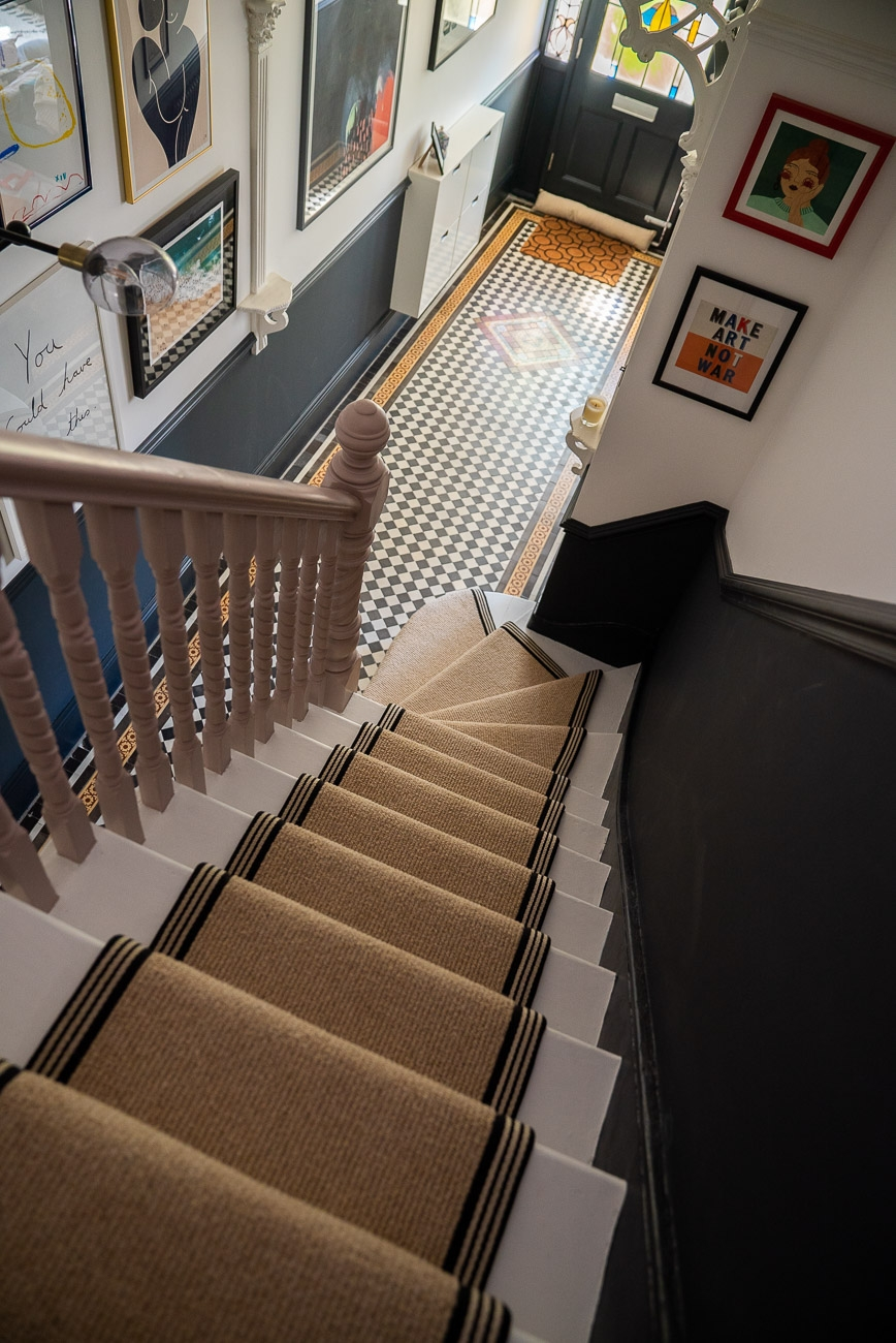 How To Achieve Your Perfect Stair Runner The Frugality | Small Rugs For Stairs | Area Rug | Stair Tread | Wood | Stair Rods | Stair Case
