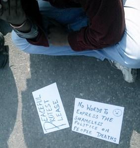 Neha Kaul Mehra- Delhi Rape Protests 2012