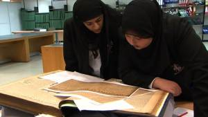 Waverley students at Birmingham Archives & Heritage