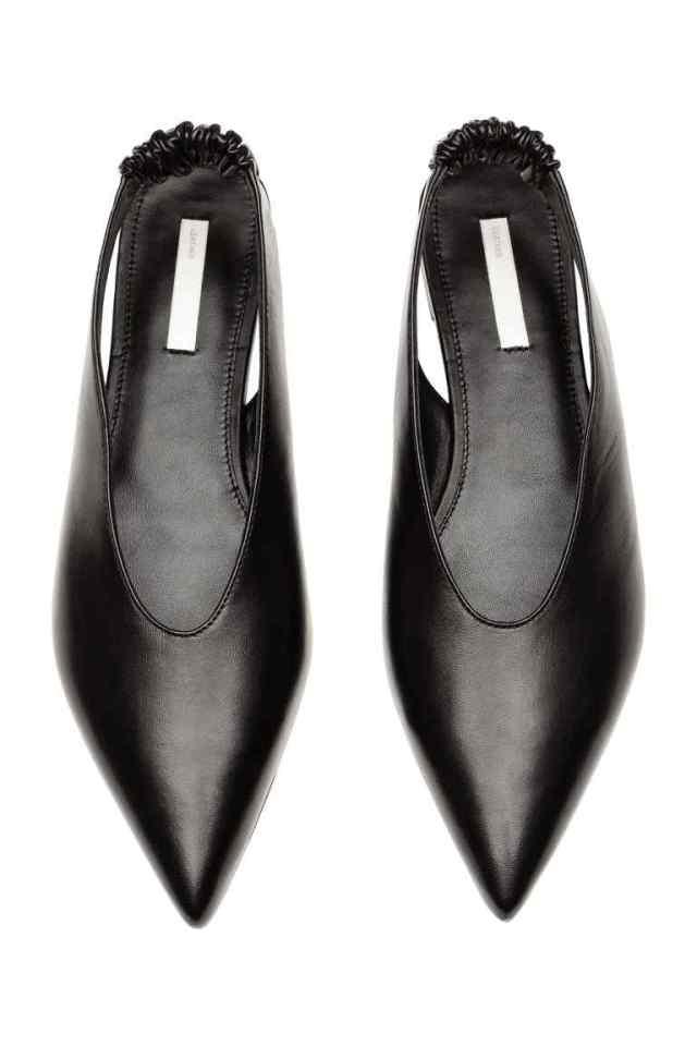 H&M Slingbacks in Black £39.99
