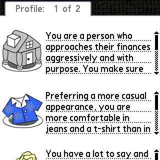Personality Psychology Pro – Palm OS Game