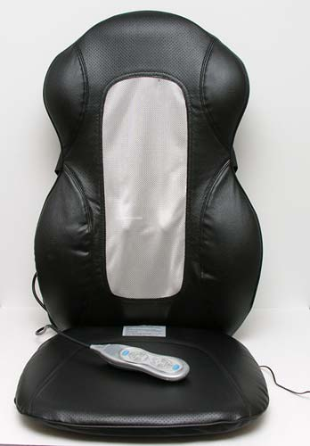 HoMedics QUADRoller Massaging Cushion  The Gadgeteer