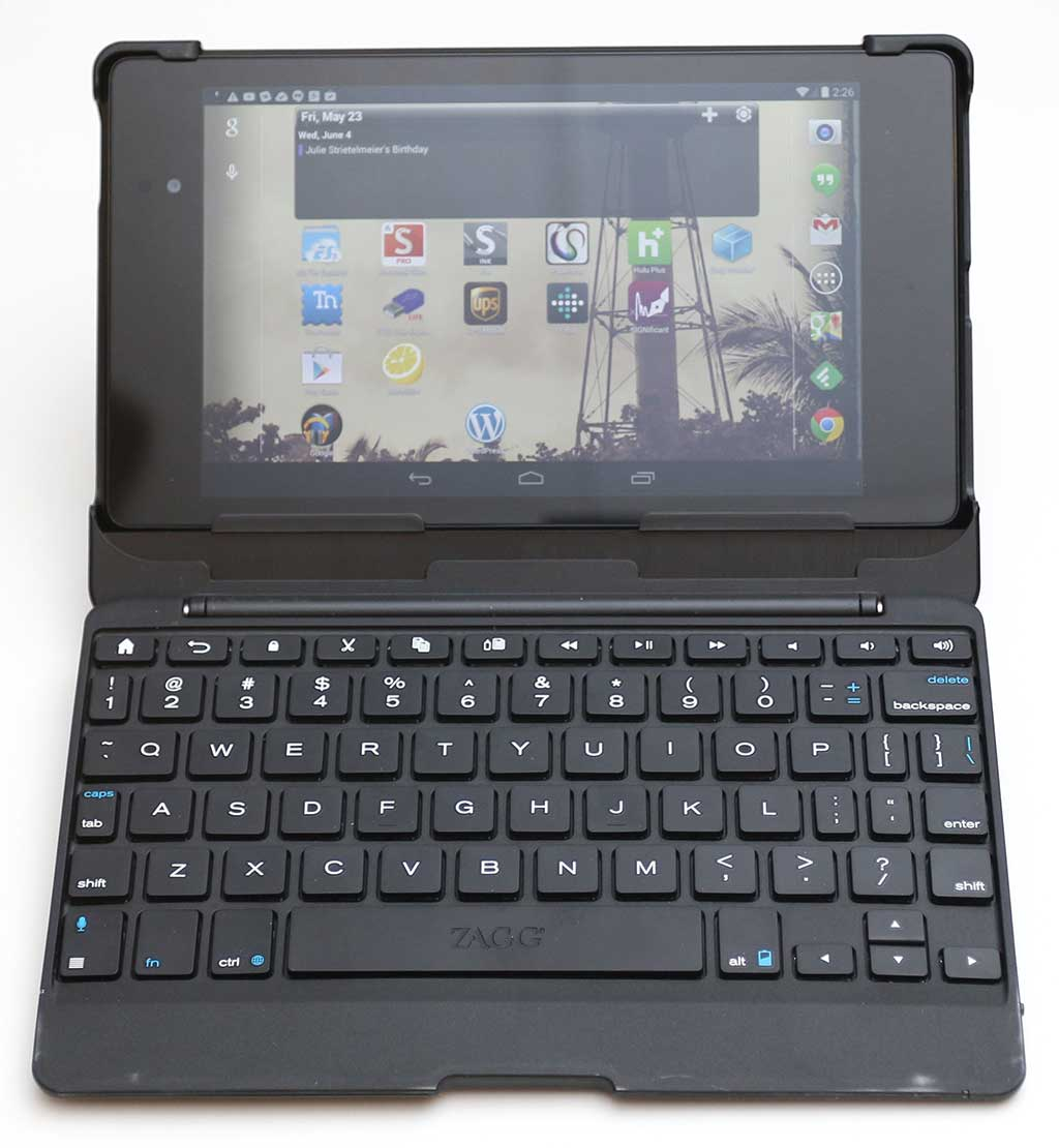 ZAGG Auto Fit Bluetooth Keyboard For 7 Inch Tablets Review
