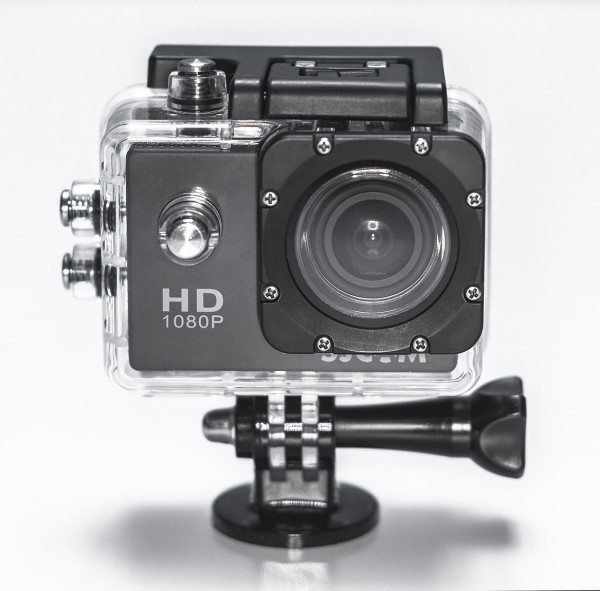 SJ400 with included underwater housing.