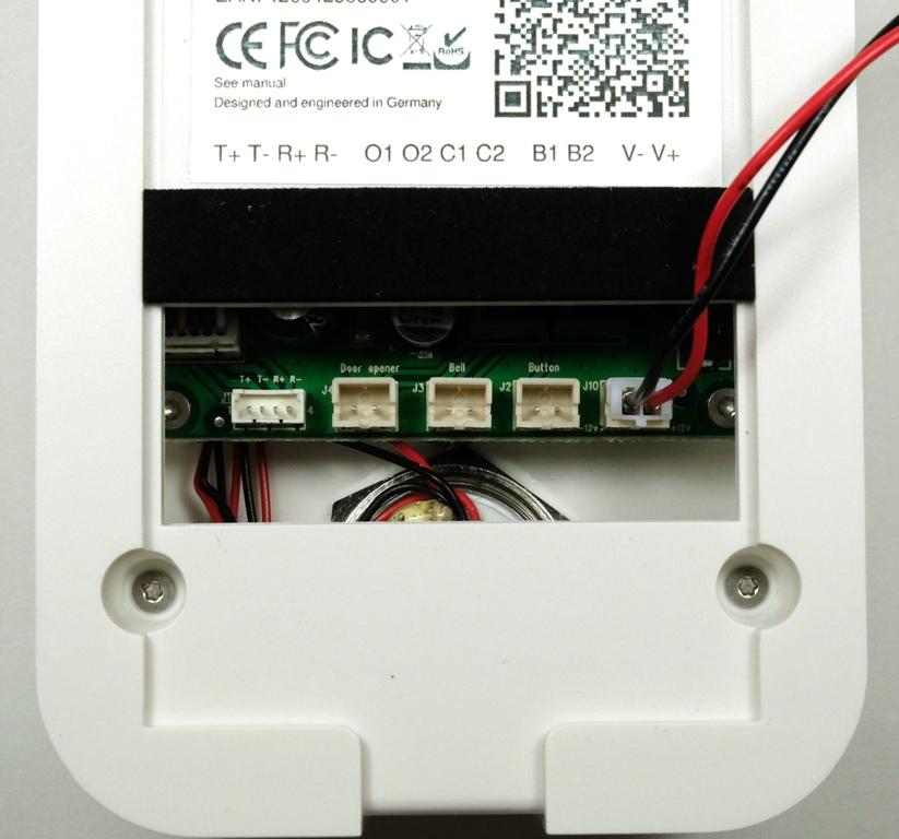 electric garage door opener wiring diagram of earth s interior structure doorbird video doorbell review – the gadgeteer