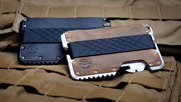 The Dango Tactical Wallet is a wallet that doubles as a multi-tool