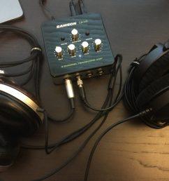 samson qh4 4 channel headphone amplifier review the gadgeteer on samson servo 300 schematic  [ 1024 x 768 Pixel ]