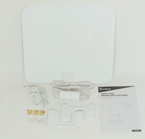 ANTOP AT-125B Indoor Antenna and AT-400BV Indoor/Outdoor