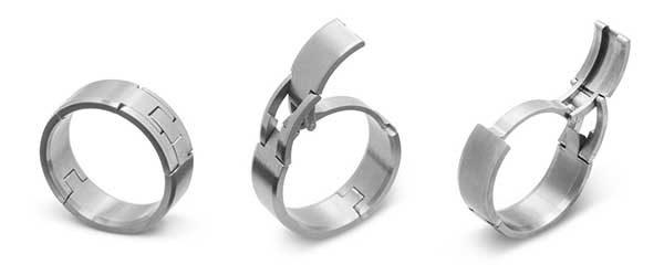 Kinekt Gear Ring Wedding Band