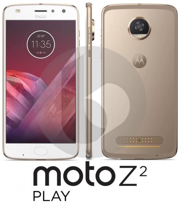 В Сеть попали первые изображения смартфона Moto Z2 Play