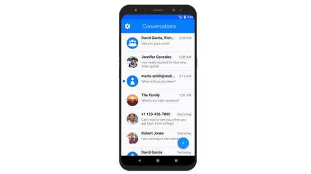 Для всех Android-смартфонов выпустили приложение, позволяющее общаться в iMessage