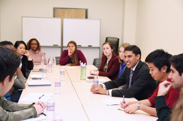 UCLA Students Interview Director of USAID, Dr. Rajiv Shah