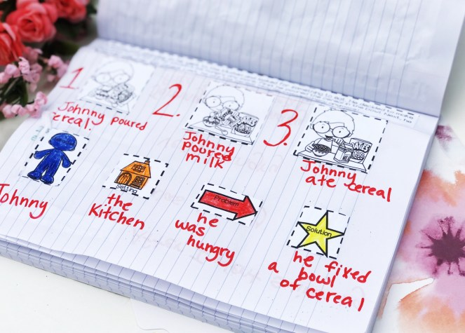 Speech Therapy Oral Narrative Interactive Notebook