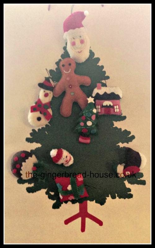 paper bag Christmas tree