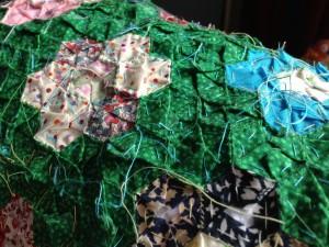 patchwork pieces