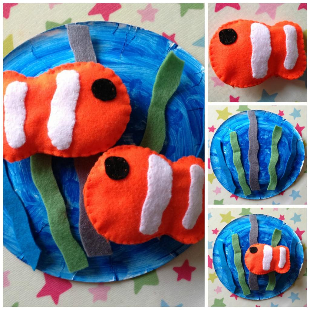 Finding Nemo craft for kids