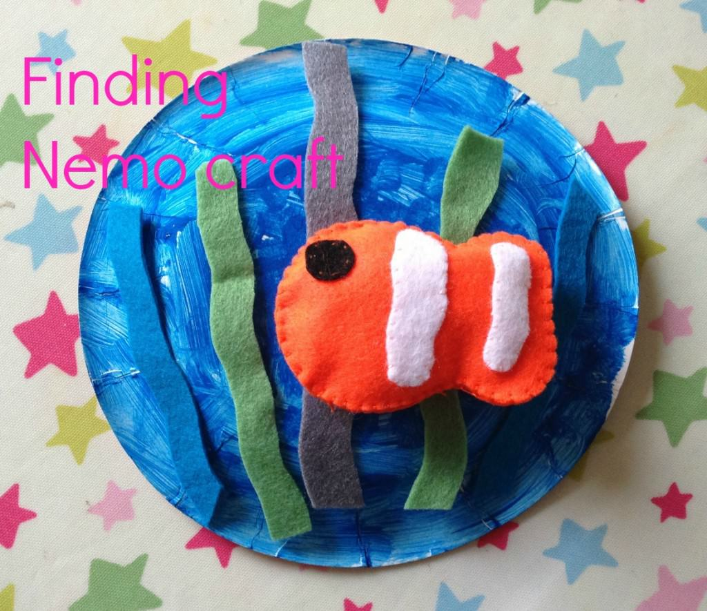 Finding Nemo felt craft for kids
