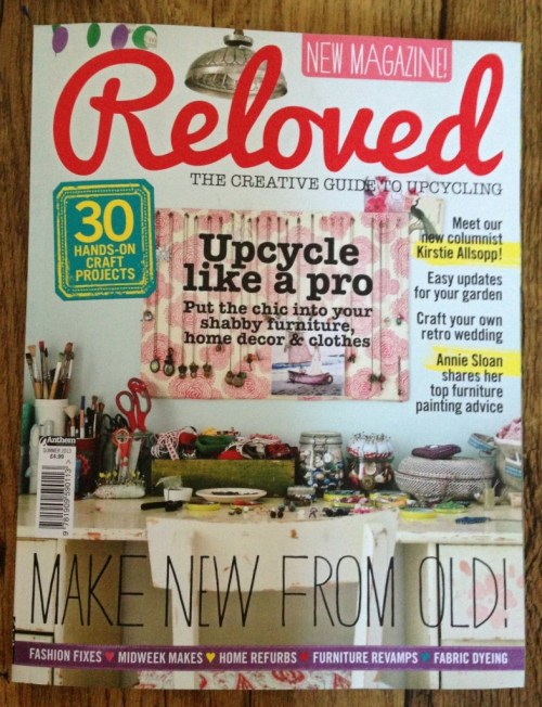 the cover of Reloved magazine
