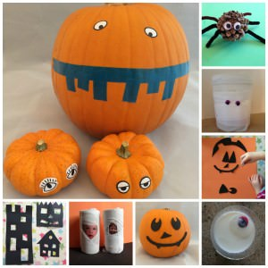 8 Halloween craft  ideas