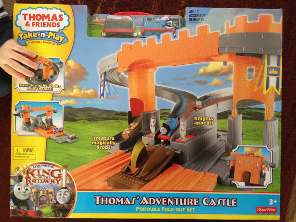 Thomas and Friends Take -N –Play Thomas' Adventure Castle