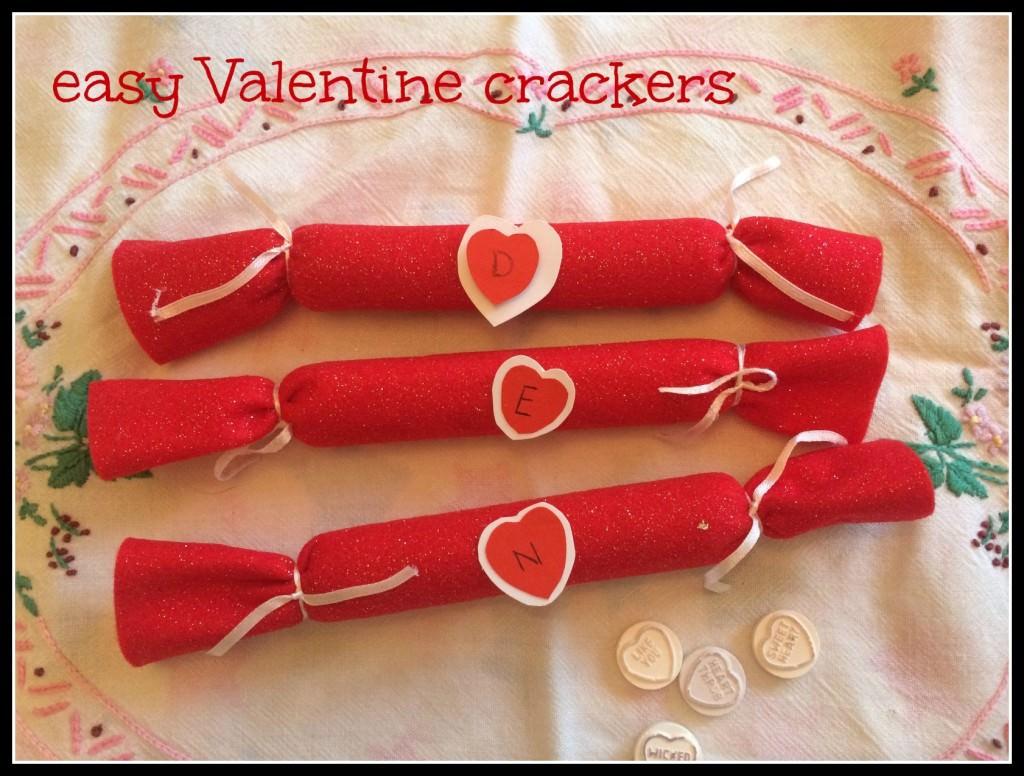 easy Valentine cracker