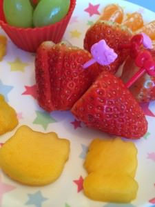 bento fruit plate