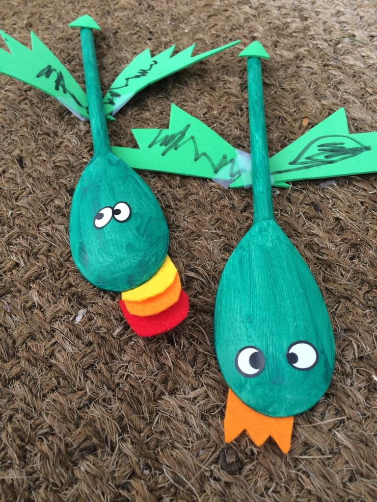wooden spoon dragons