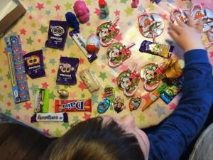 choosing sweets