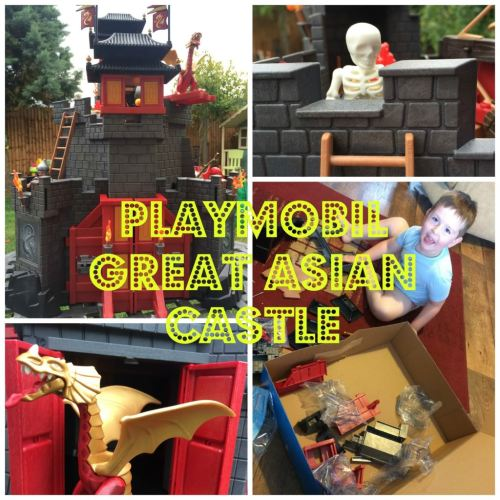 Playmobil Great Asian Castle - the gingerbread house