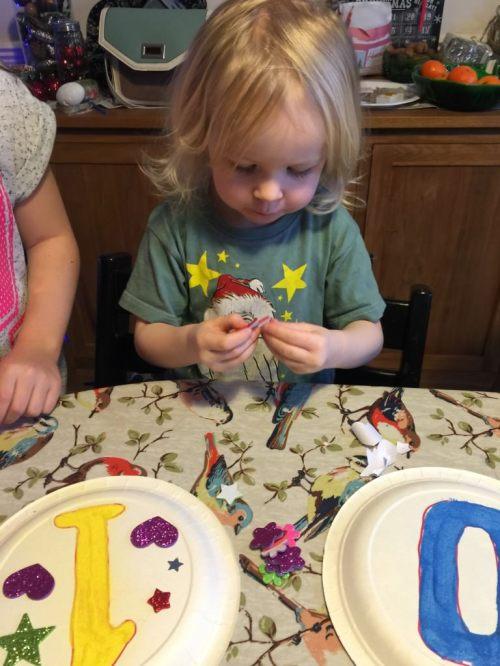 New Year kids craft