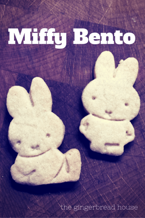 two Miffy shaped biscuits