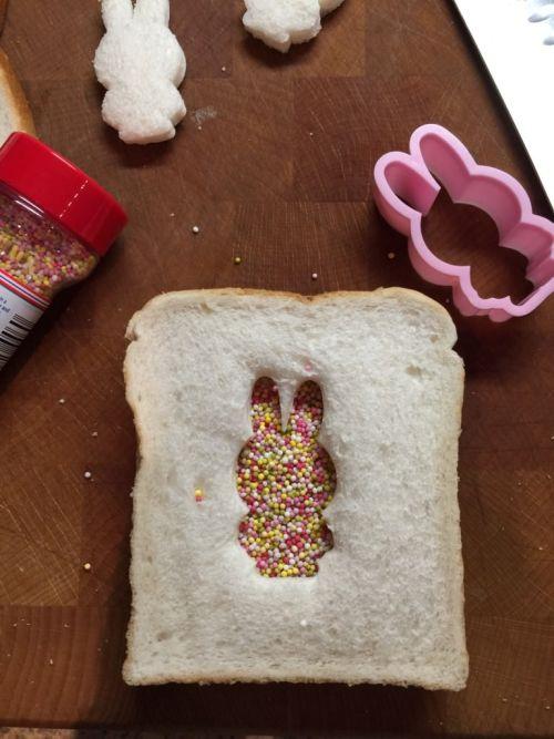 Miffy fairy bread