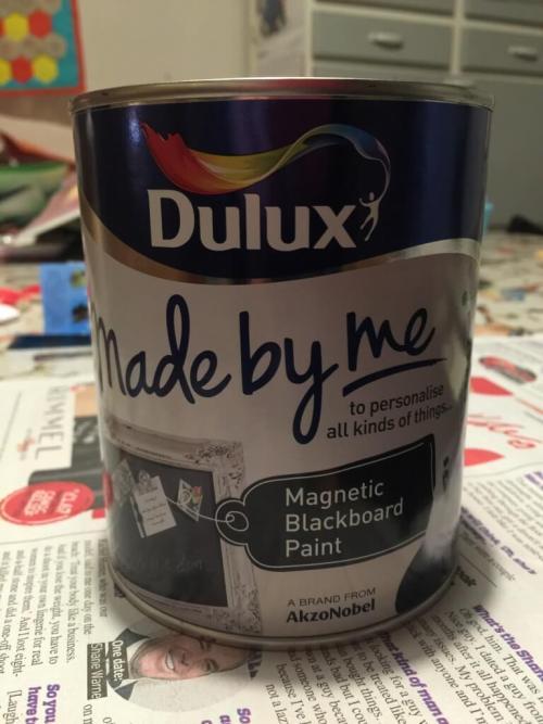 magnetic blackboard paint