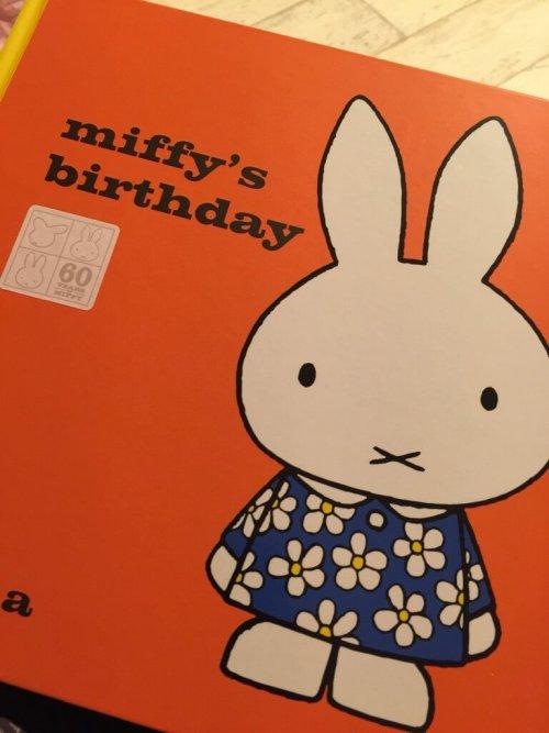 60th anniversary edition Miffy's birthday
