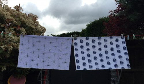 customisable fabric from zazzle