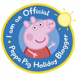Peppa Pig Holiday Blogger badge