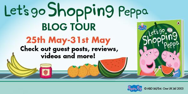 Peppa Pig blog tour banner