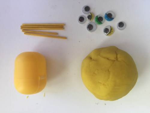 minion play dough