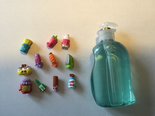 DIY shopkins soap dispenser - the gingerbread house
