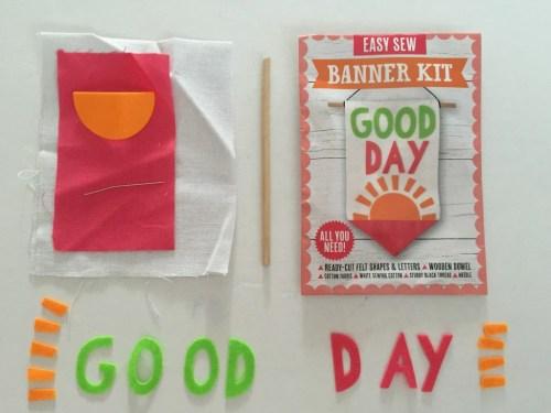 Mollie Makes easy sew banner kit