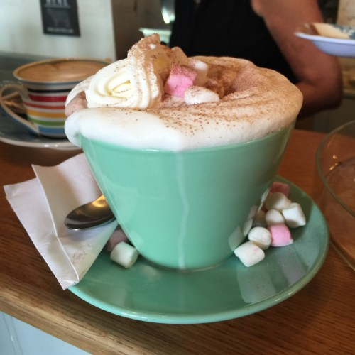 Spring Time Hot Chocolate