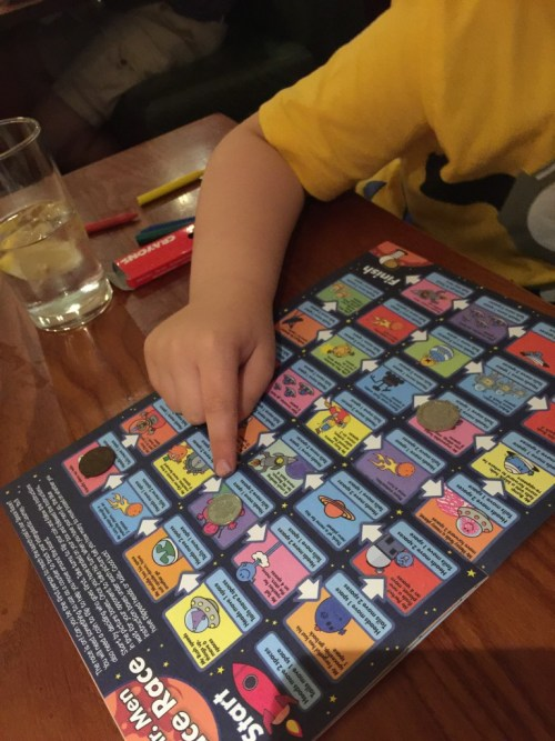 Mr Men at Beefeater
