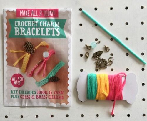 Jenny Makes Mollie Makes crochet charms bracelet