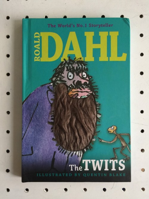 The Twits with a hairy beard cover