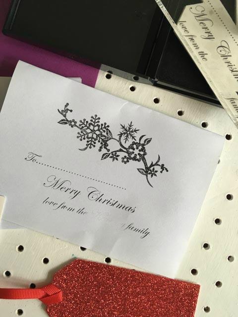Stamptastic Christmas stamp