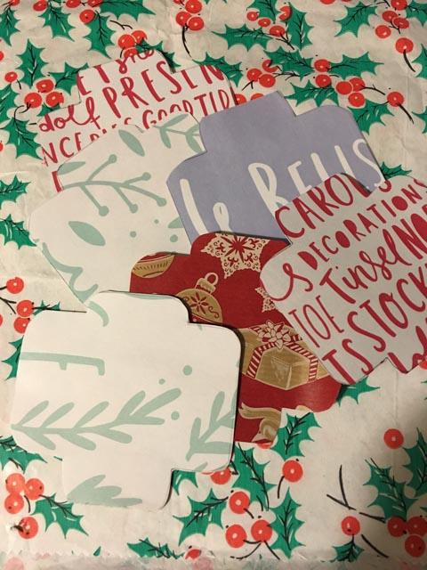 Homemade Christmas Countdown for kids
