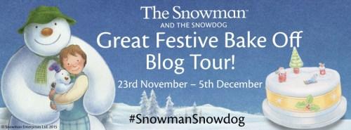 Snowman Bake off banner
