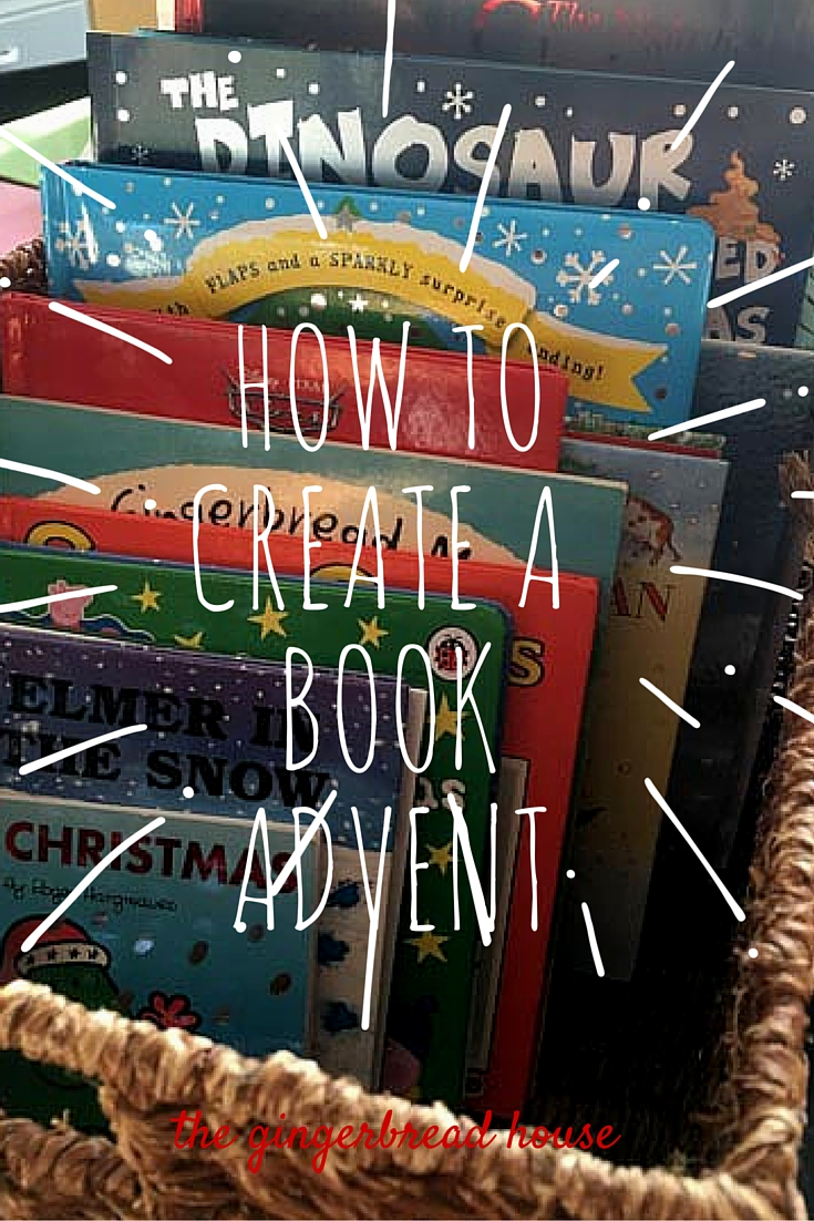how to create a book advent