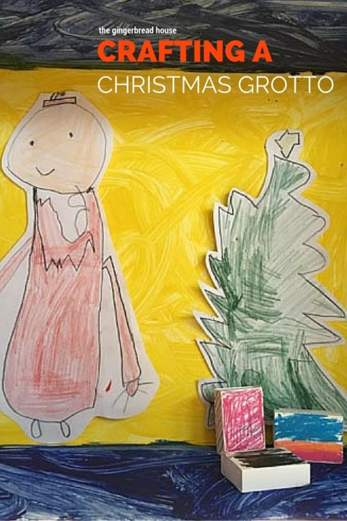 crafting a christmas grotto